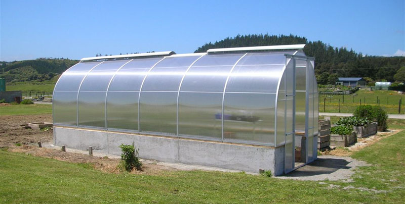 Morrifield Polycarbonate Greenhouse - Easy As Timber, New